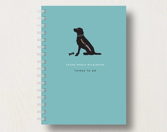 Personalised Dog Lover's Journal or Notebook