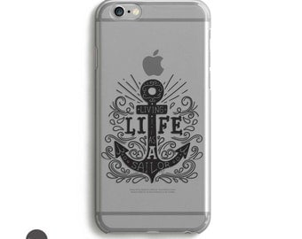 Anchor iPhone Case, Cell Phone Case iPhone 7, iphone 7 case black, Clear iPhone 7 Case, Case for iPhone, iPhone 7 case // for 5, 5SE, 6 plus