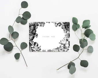 Thank You Card | Greeting card | A6 | Australian natives | Australian botanicals | Australiana
