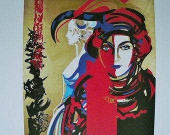 Raymond Moretti,  FRENCH ART PRINTS, Vintage French Prints with Booklet, Raymond Moretti Prints, Galerue des Arcades, Toulouse, 1997.