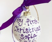 My first Christmas Bauble...
