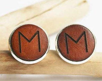 Cuff links, Cufflinks, Engraved Cufflinks, Personalized, Gifts for Husband, Birthday Gift for Husband, Wife to Husband Gift,  Suit Cufflinks