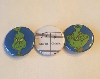 How The Grinch Stole Christmas pin pack