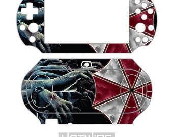 Playstation VITA 2000 Skin Sticker Kit (PS VITA Slim) - Resident Evil BioHazard