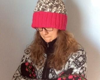 Warm Cozy Crocheted Cap