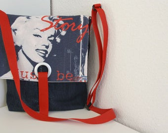 Jeans bag Marilyn bag Upcycling