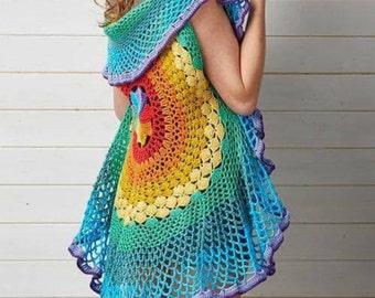 Rainbow shawl **pre-order**