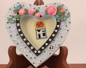 Mary Engelbreit Poly Stone Heart Magnet.
