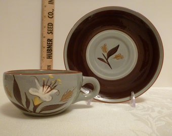 Stangl Golden Harvest Cup and Saucer #3887