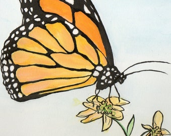 Monarch Butterfly Original Artwork