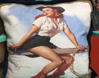 "The ""Jane"" novelty/decorative pillow"