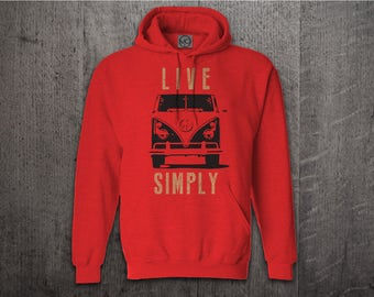 VW Bus hoodie, Cars hoodies, Classic BUG hoodies, simple life hoodies, Graphic hoodies, funny hoodies, Cars t shirts, vw bus shirts