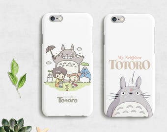 TOTORO iPhone 7 Case iPhone 7 Plus Case iPhone 6 case iPhone 6s case iPhone SE case,Galaxy S7 case Galaxy S6,Samsung Case,Totoro phone Case