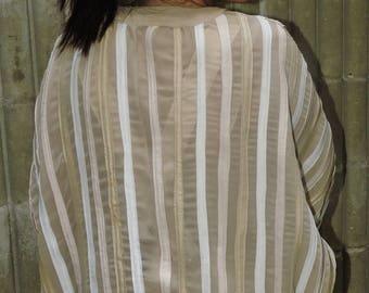Linework Kimono Jacket