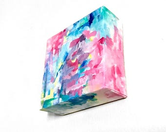 Hand Painted Acrylic Abstract
