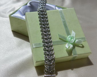 Interwoven Chainmail Bracelet