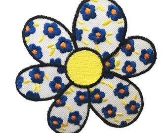 Vintage Daisy Flower Patch