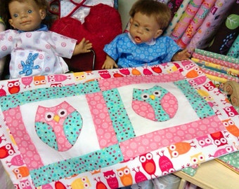Three wise Owls - pattern download