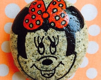 Minnie Mouse Rock-Check out the back (#5)