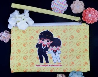"Chanyeol and Kyungsoo ""Chansoo"" Pouch"