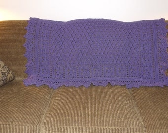 """The """"Violet"""" Accent throw"""