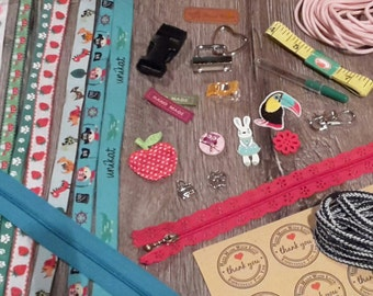 DROP / / sewing accessories - surprise package worth eur 50