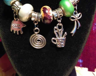 Artist Charm Bracelet