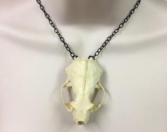Mink Skull Necklace