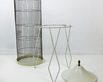 SOLD Mid Century Modern Prevue Hendryx Bird Cage Hairpin Legs