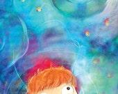 Ponyo Studio Ghibli Glossy Poster Print - Free USA Shipping