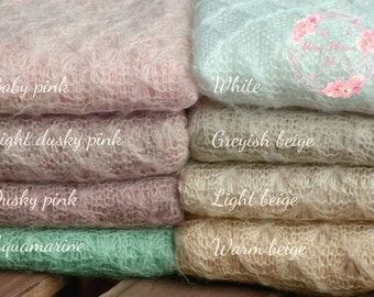 RTS stretch knit wraps SOPHIA in 8 gorgeous colours!Soft,stretchy,textured knitted wraps photo props for newborn photography, UK seller