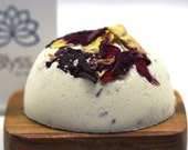 Diva Bath Bomb with Rose and Lavender Petals