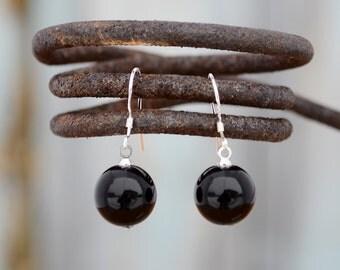Black onyx earrings,Onyx earrings, Onyx silver earrings, Onyx earrings silver, Silver earrings onyx, Black onyx drop earrings, Onyx drop.
