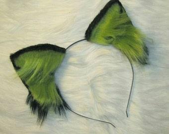 Green/Black Ears