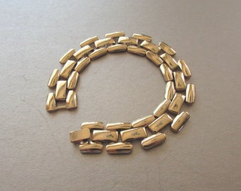 "Napier 3-Row Panther Length 7-1/2"" Bracelet Gorgeous"
