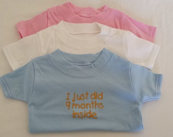 Baby/Toddler Embroidered T Shirts