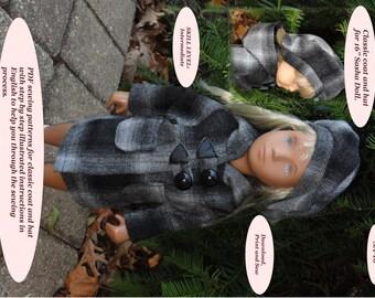 Doll Clothes PDF Pattern for 16' Sasha Doll by NVME SA-16