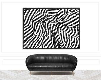 Chic Abstract Monochrome Art Print | Chic Minimalist Art Print | Modern Monochrome Print | Chic Monochrome Print | Stylish monochrome print