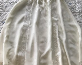 Vintage Baby Christening Dress and Slip