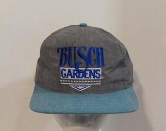 Busch Gardens VTG Baseball Truckers Snapback Hat Cap