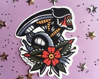 Xenomorph Sticker