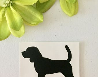 Bigul Dog Vinyl car decal, Car decal any size. Special order car decal