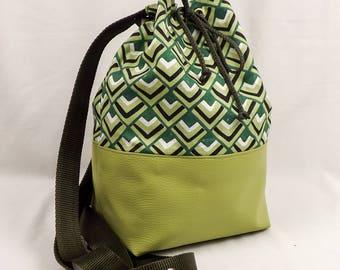 """Handbag """"Alois"""" 2 in 1. Door back, shoulder, and hand."""
