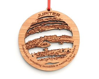 Jupiter Christmas Ornament Solar System Planet Ornament Science Astronomy Gift for Christmas