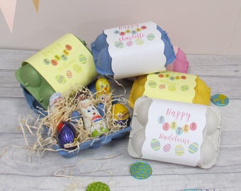 Personalised Easter Box, Easter Egg Box, Easter Eggs, Chocolate Eggs