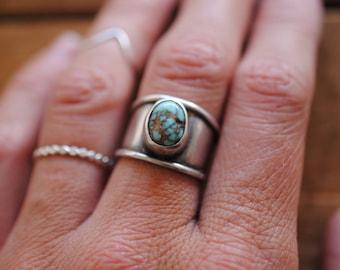 Large Turquoise Ring   Size 6