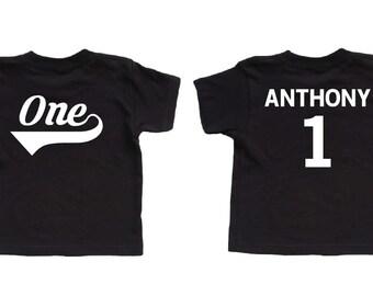 First Birthday Shirt - Boy Birthday - 1st Birthday Shirt - First Birthday Boy - Baby Boy - Personalized - First Birthday - Outfit - Toddler