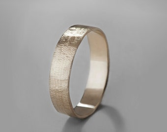 Simple wedding band Etsy