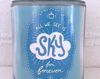 SKY FOR FOREVER - Dear Evan Hansen Fandom-Inspired Soy Candle