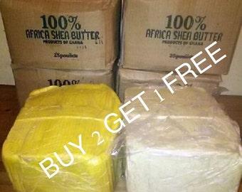 African Shea Butter 3 lbs